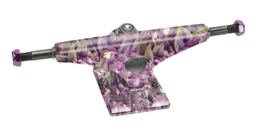 TRUCK KRUX SANDOVAL PURPS HOLLOW FORGED PURPLE TAIL