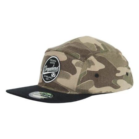 BONÉ DROP DEAD FIVE PANEL STRAPBACK CAMUFLADO