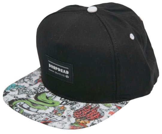 BONÉ DROP DEAD SNAPBACK MIXTURE