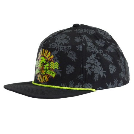 BONÉ CREATURE LAST RESORT FIVE PANEL SNAPBACK