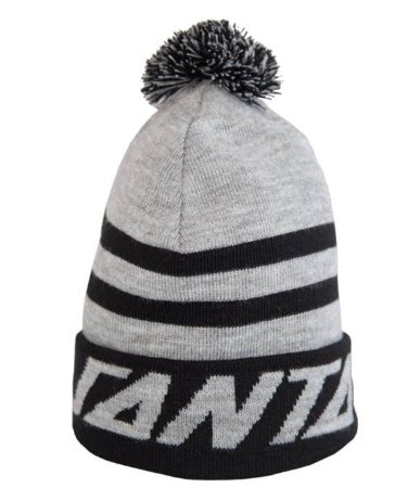 GORRO SANTA CRUZ STRIP PUFF CINZA