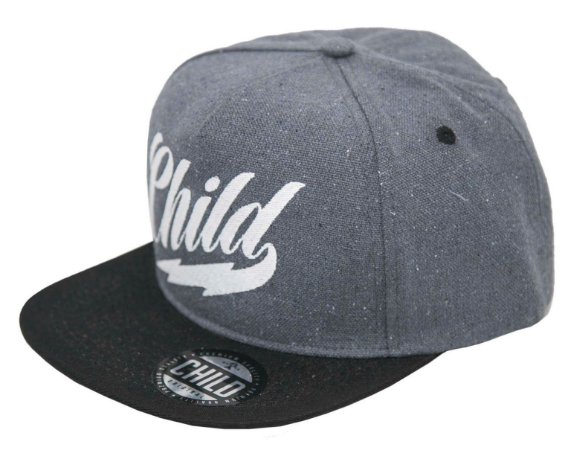 BONÉ CHILD SNAPBACK DARKEST CINZA