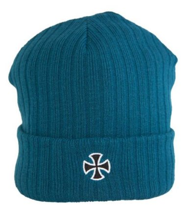 GORRO INDEPENDENT CROSS RIBBED AZUL