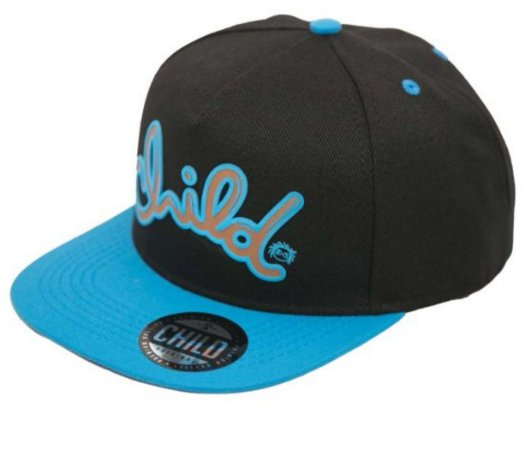 BONÉ CHILD CHOCOLATE PRETO SNAPBACK
