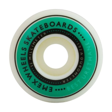 RODA EMEX 52MM GREEN 2 - 102A