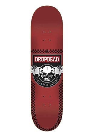 SHAPE DROP DEAD DEADLY RED