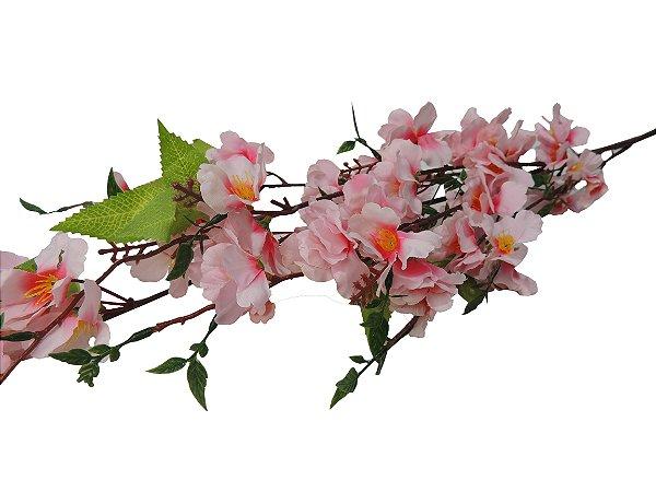 Haste de cerejeira Rosa - 95cm