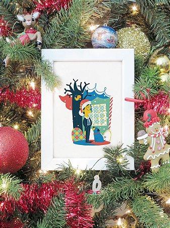 Poster Férias Frustradas de Natal