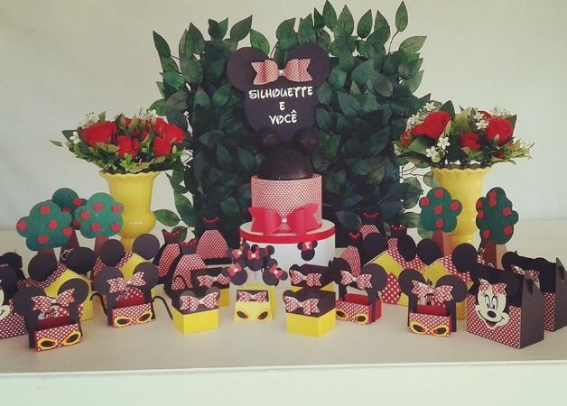 Kit festa Minnie