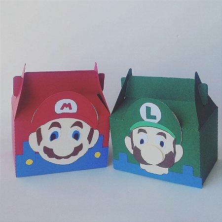 Caixa em camadas Super Mario