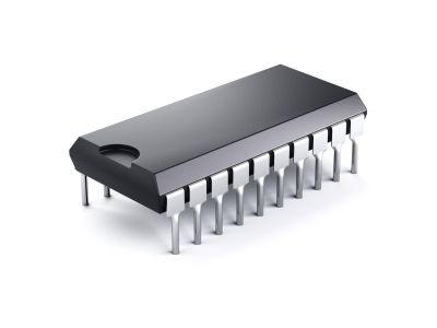 Chip EEPROM 93LC66 Modelo INV-02.117.1
