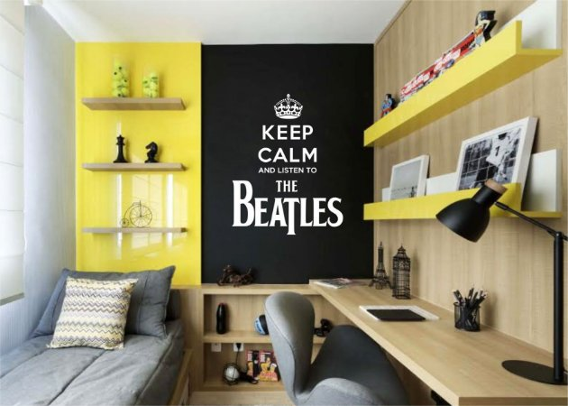 Adesivo Decorativo Beatles