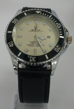 c862f821df3 Relógio Rolex Couro masculino - Vmax Relojoaria