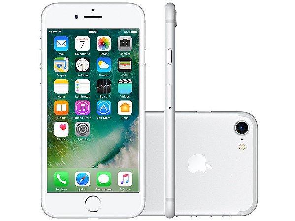 iPhone 7 Apple 256GB Prateado 4G