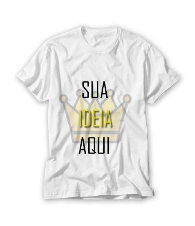 6c890bf936 camiseta personalizada em mauá - Lorb Brindes