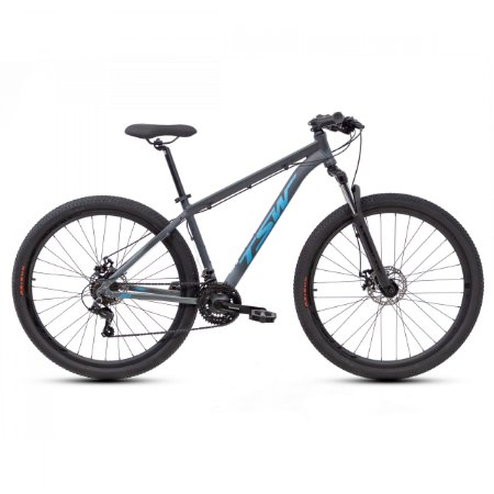 Bicicleta TSW Ride Azul/Cinza - Tam. 19