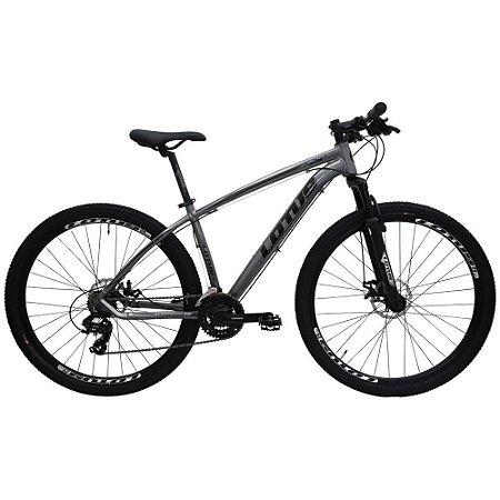 Bicicleta LOTUS Mec Aro 29 21V Cinza/Preto - Tam. 15,5