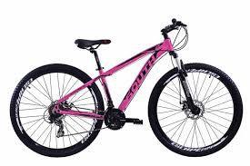 Bicicleta SOUTH Legend Aro 29 21V Rosa - Tam. 15