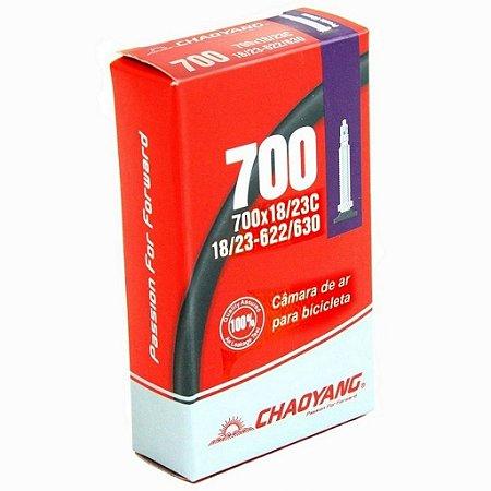 Câmara de Ar CHAOYANG 700x18/23 Presta 48mm