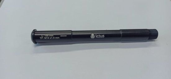 EIXO ICTUS 15mm 110MM Dianteiro (L:158mm TP: M14x1,50mm)
