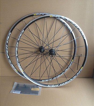 Rodas Mavic Ksyrium Equipe 700c - Dianteiro e Traseiro Wheels Rodas