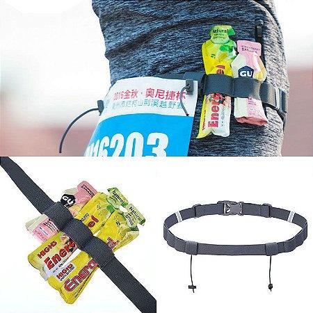 Number Plate p/maratona Corrida Triathlon e suporte de gel energético