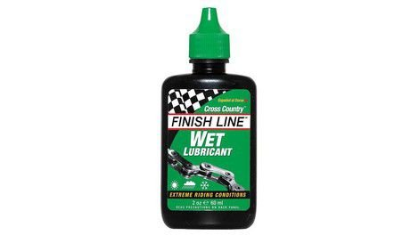 Lubrificantes molhado Cross Country - Finish Line  - 120ml
