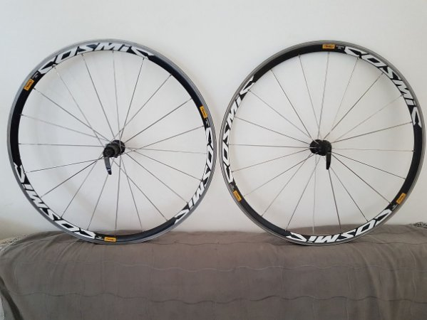 Rodas Mavic Cosmic Elite Clincher 700c (USADA) - Ciclismo de estrada - perfeito estado