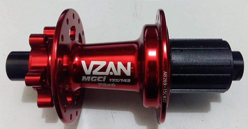Cubo Traseiro VZAN MGCI 2019 V17 ( C/ Rolamento ) -  28 furos - MTB