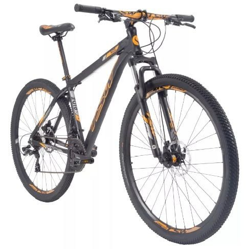 Bicicleta TSW Ride  Tam. 17  29w - preto/laranja  - alumínio 6061