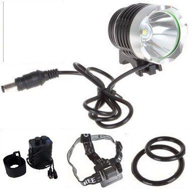 Farol LED Bike 5000LM - 04 Baterias + carregador de estojo