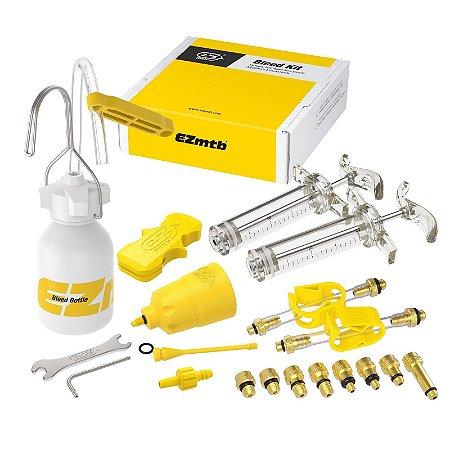 Kit Ferramentas para manutenção de freios hidráulicos de bicicleta - para todas as marcas de freio - Ezmtb