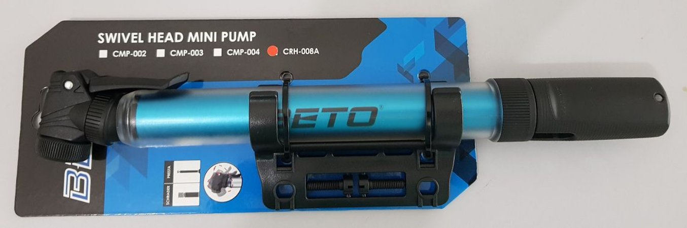 Bomba Beto azul mini AL CRH-008A - dupla válvula