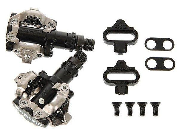 Pedal Shimano PD-M520 SPD  - Com Clip