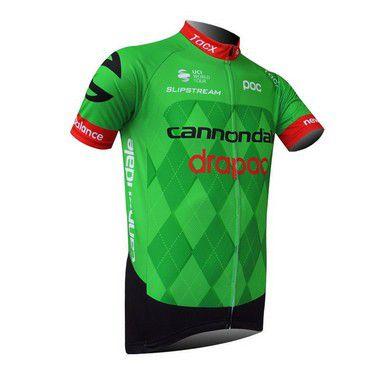 Camisa de Jersey Cannondale- Verde/Vermelho/Preto - Tam. XL