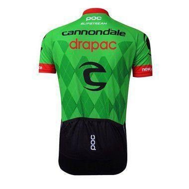 Camisa de Jersey Cannondale - Verde/Vermelho/Preto - Tam. L