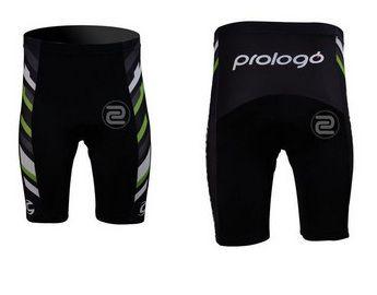 Short de ciclismo Cannondale/Prologó Preto/Verde/Branco - TAM. M