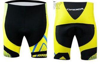 Short de ciclismo Orbea Amarelo/Preto - TAM. G