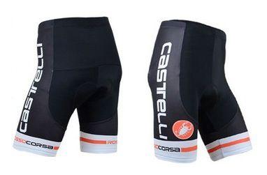 Short de ciclismo Castelli Preto/Branco/Vermelho - TAM. G