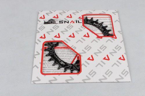 Coroa de corrente  SNAIL 38T   96bcd PRETO  - Shimano M7000, M8000 e M9000