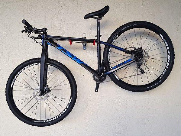 Bicicleta TSW AWE Azul/preto Tam. 17 - Grupo Shimano XT M8000, Garfo carbono.