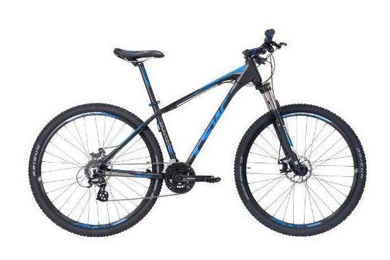Bicicleta TSW Hunter 29w  Tam. 17   preto/azul alumínio 6061