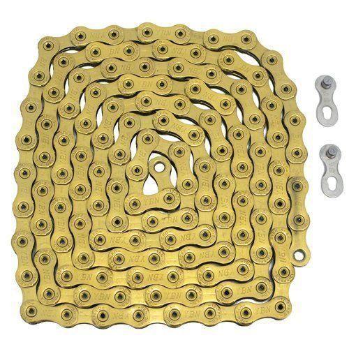 Corrente YBN dourada 12v p/Eagle 126 Links - compativel C/ GX/X01/Xx1