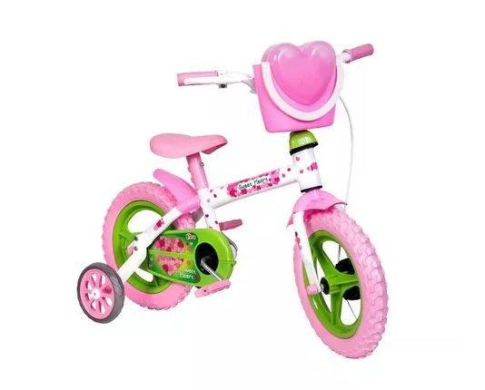 Bicicleta infantil aro 12 Sweet Heart Styll