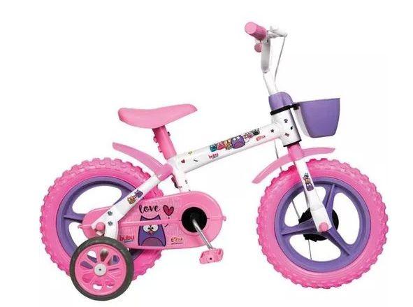 Bicicleta infantil aro 12 Bubu Styll