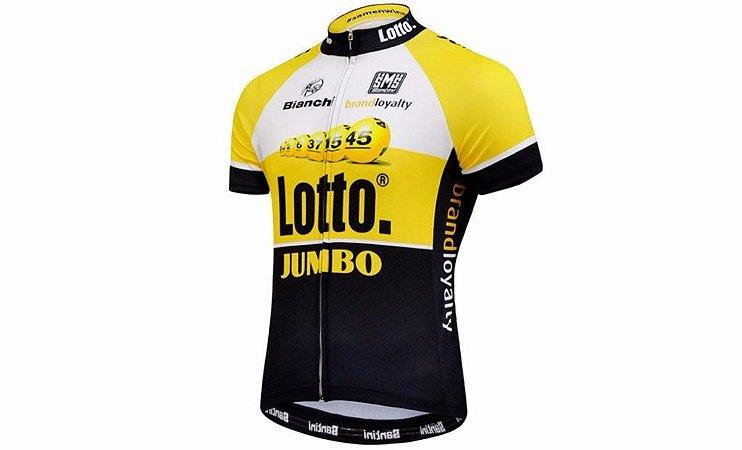 Camisa de Jersey Lotto - Amarela/Preto - Tam. G