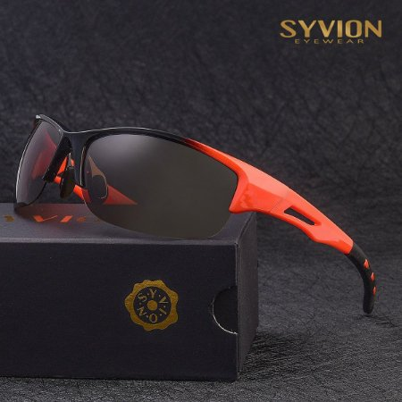 Óculos Esportivo SYVION Eyewear Laranja/Preto