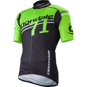 Camisa Jersey  Cannondale 71 - Verde/Preto - Tam. GG