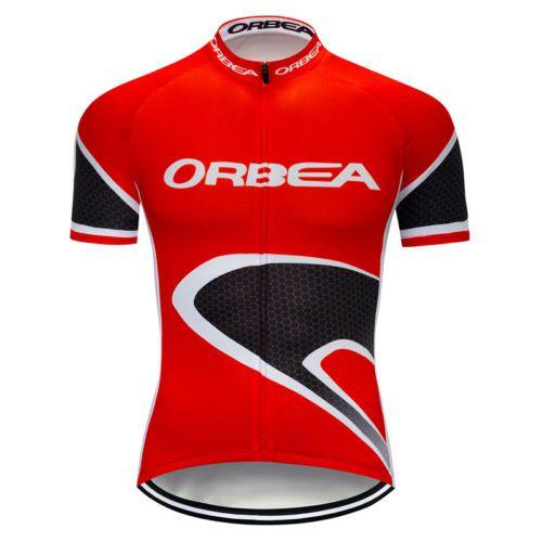 Camisa de Jersey Manga Curta - Orbea - Vermelha Tam.GG