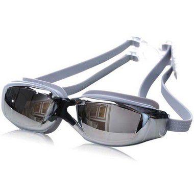 Óculos de Natação c/ proteção UV Anti-Frog - Prata